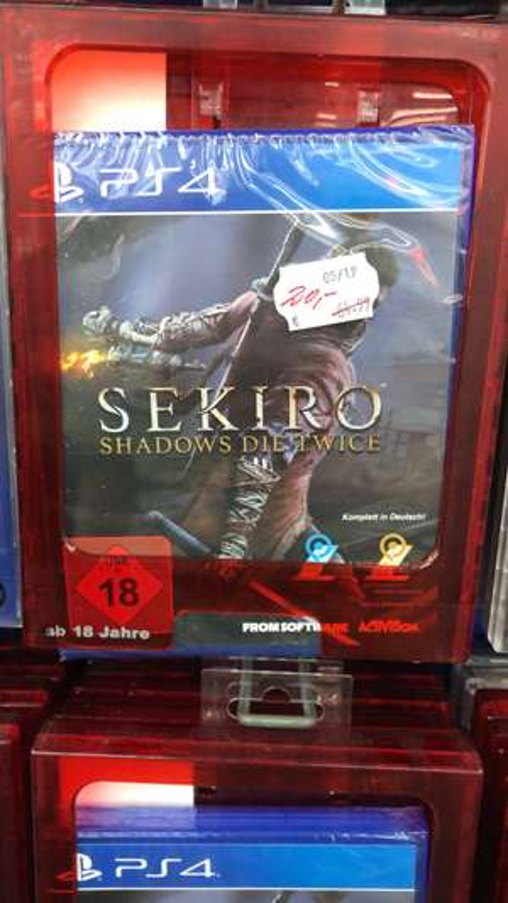 [LOKAL] Saturn Hannover Innenstadt - Sekiro: Shadows Die Twice (PS4)