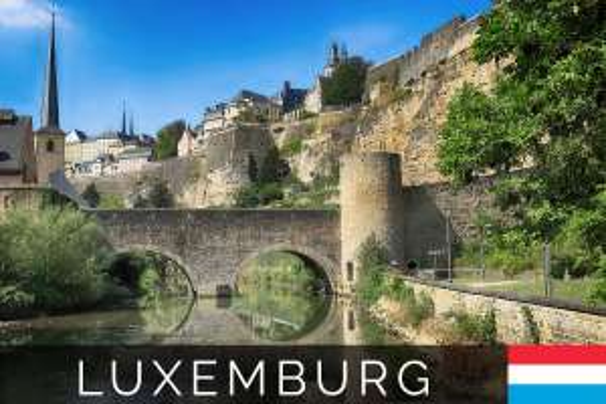 Hin- und Rückflug von Berlin nach Luxemburg für 8,72€ im August