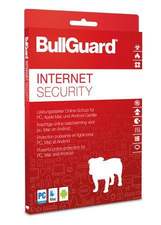 Gratis: Bullguard Internet Security für 3 User und 1 Jahr