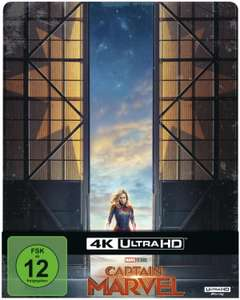 Captain Marvel 3D oder 4K UHD Blu-ray Steelkbook Edition