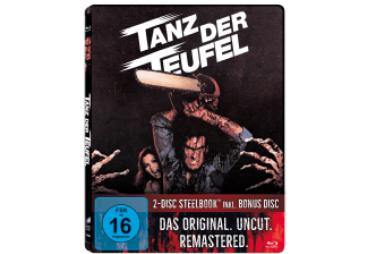 Tanz der Teufel - Remastered Uncut SteelBook Edition (Blu-ray + Bonus Disc) für 5,99€ (Saturn)