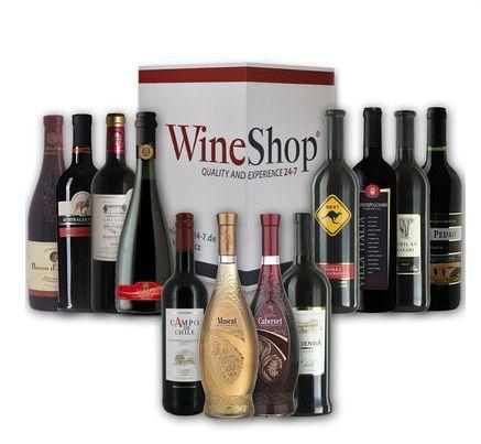 Großes Probierpaket mit 12 erlesenen Weinen aus vier Kontinenten für 39,99€ inkl. Versand @ Ebay