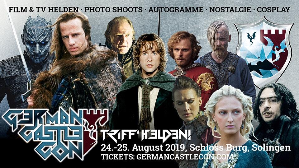 German Castle Con 2019 - 8€ Rabatt auf Tickets