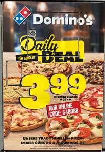 Domino's Daily Deal für Abholer