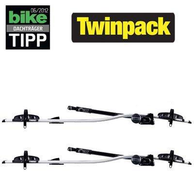 2 Stück Thule ProRide 591 Dachträger für Fahrräder bei Zweirad Stadler