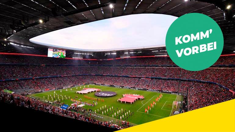 [ München ] 1x 2 Audi Cup 2019 Tickets für Schüler + Begleitperson gratis bei Vorlage dés Zeugnis (egal welche Noten)