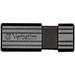 Verbatim Store n Go Pinstripe 128GB USB Stick 2.0 / black [Amazon Prime]
