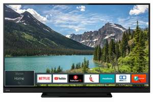 "Toshiba 55T6863DA  - 55"" 4K UHD Smart TV (Direct LED, 60 Hz, 8bit+FRC; 350cd/m², DTS, Miracast, Alexa Support)"