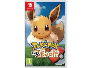 [Mediamarkt.at]Diverse Spiele/Amiibos im Sale. z.B Pokemon Let´s go Evoli: 27€
