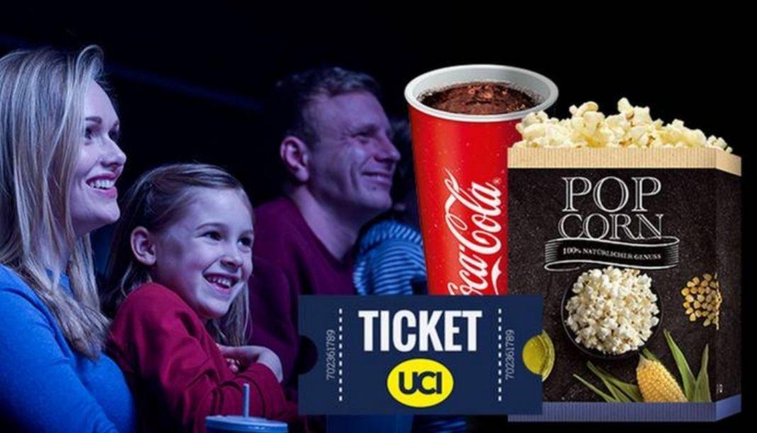 [Groupon] UCI Ticket + kleines Popcorn + 0,5l Softgetränk oder Bier