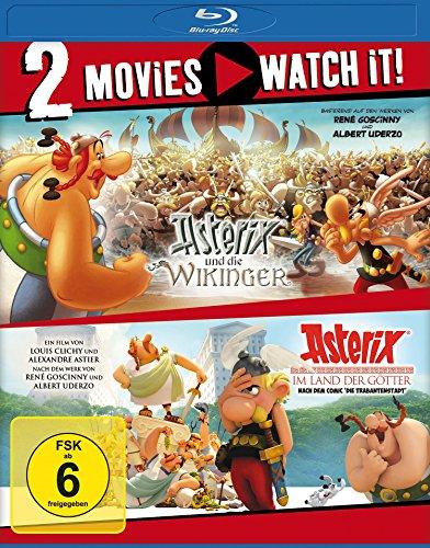 Asterix und die Wikinger + Asterix im Land der Götter (Doppelset Blu-ray) für 10,99€ (Amazon Prime & Saturn & Media Markt)