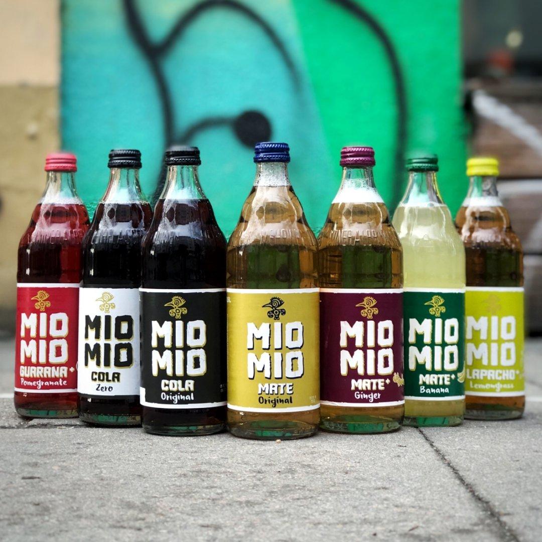 Mio Mio Mate (12x0.5) verschiedene Sorten (Mate, Banane, Ingwer, Zitronengras, Granatapfel, Cola) - Lokal: Leipzig