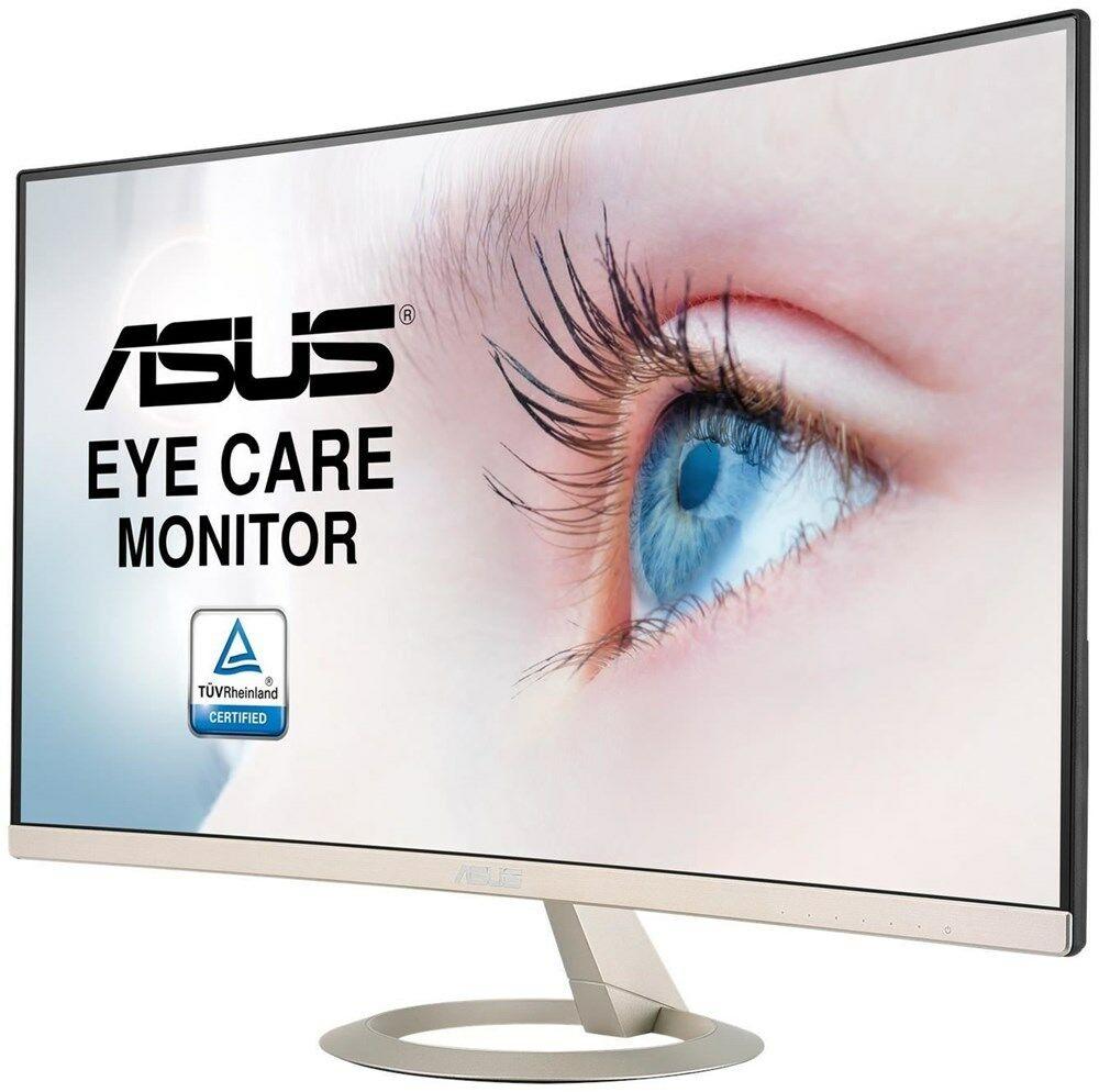 "ASUS VZ27VQ 68.6 cm (27"") 16:9 Curved Montior, mattes VA-Panel Full HD, 5 ms, 250 cd/m², 60 Hz 1x VGA, 1x HDMI, 1x DisplayPort [eBay]"