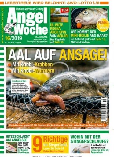 Angelwoche Abo (26 Ausgaben) für 71,50 € mit 60 € Amazon-Gutschein/ 55 € Verrechnungsscheck