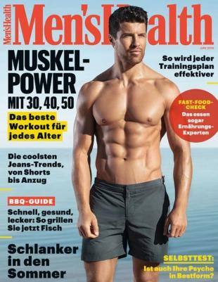 Men's Health Abo (3 Ausgaben) für 17,70 € mit 20,00 € BestChoice-Universalgutschein