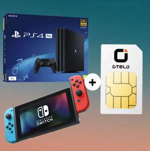 Otelo Classic Tarif (7GB LTE) mtl. 19,99€ + Nintendo Switch (4,99€ ZZ) od. Sony PlayStation 4 Pro 1TB (29,98€ ZZ) od. 2er-Set Sonos PLAY:1 (4,99€ ZZ)