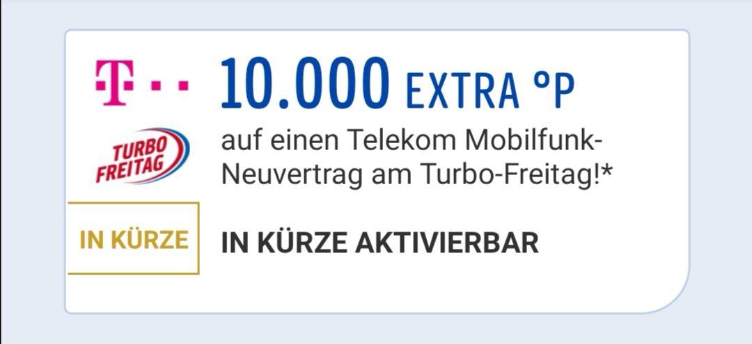 10.000 Payback Punkte am 26.7 bei der Telekom im Shop und Online