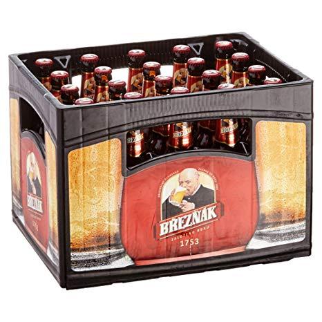 Breznak Original Böhmisch Pils | Bier-Kasten 20x0,5l 5,1% | bei [NETTO] ab 02.08.