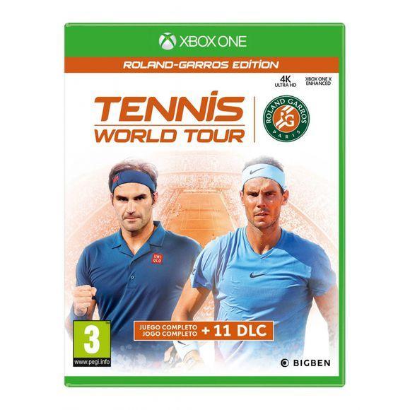 Tennis World TourRoland-Garros Edition (Xbox One) [Coolshop]