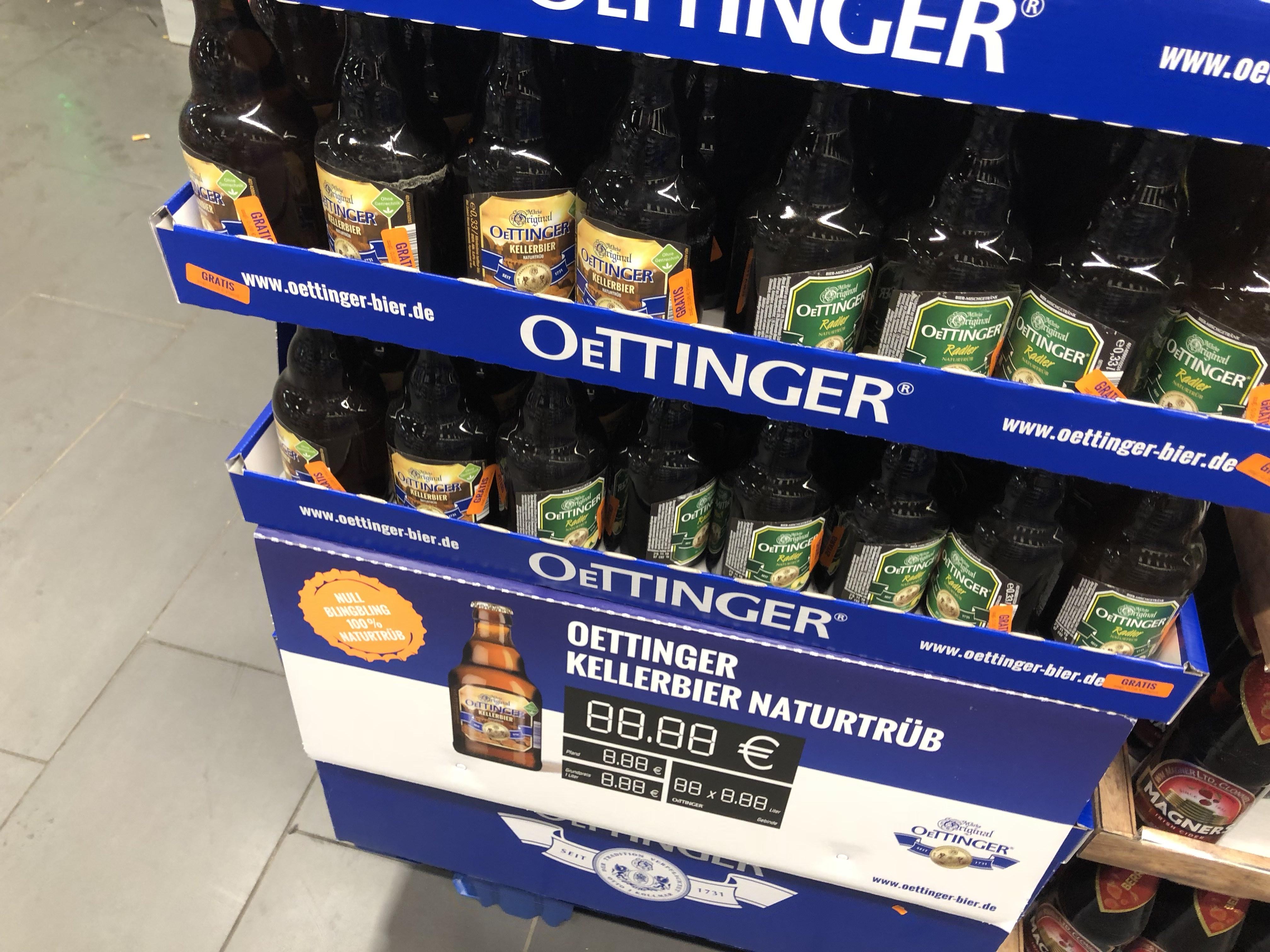 [Lokal]Freibier!! Rewe Schenefeld (PI) - Oettinger Radler gratis