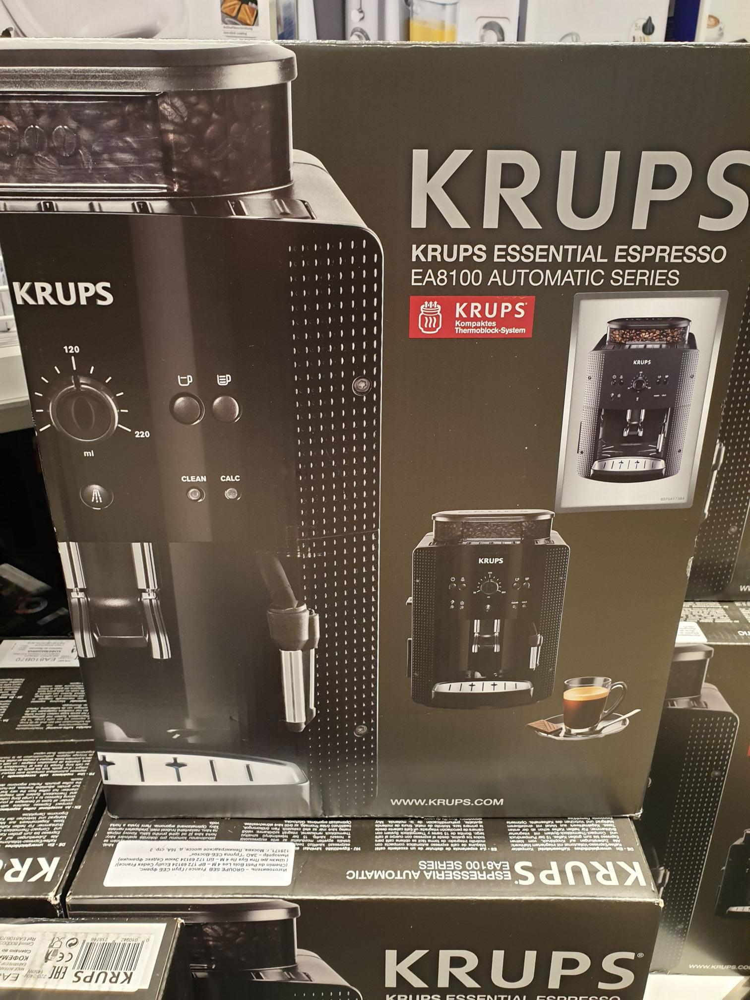 [lokal Hamburg] Krups Kaffee-Espresso-Vollautomat EA810B
