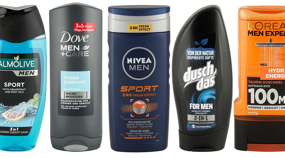 [Öko-Test] Testergebnisse für Männer-Duschgele vom August 2019 gratis ansehen // Dove Men + Care am Schlechtesten