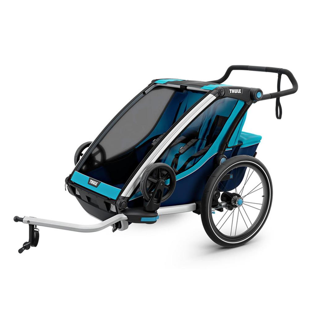 Thule Chariot Cross 2 Fahrradanhänger 2019 blue