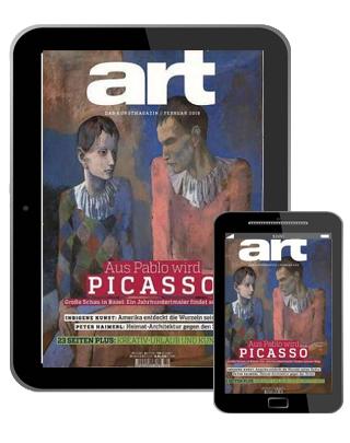 Art Abo (12 Ausgaben digital) für 73  € mit 75 € BestChoice Universalgutschein oder 70 € BestChoice inkl. Amazon