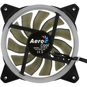 AEROCOOL REV RGB LED 120MM PC-Gehäuse Lüfter, Schwarz