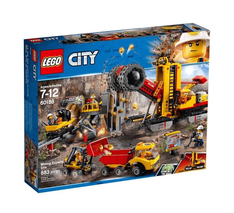 LEGO 60188 - Bergbauprofis an der Abbaustätte - Amazon ES