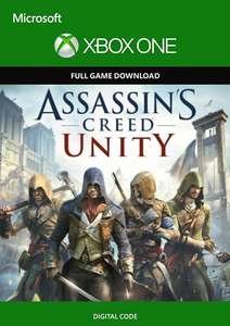 Assassin's Creed: Unity (Xbox One Digital Code) für 59 Cent (CDkeys)
