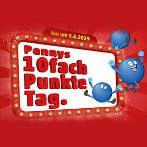 [Penny] 10 Fach Payback Punkte am 03.08.