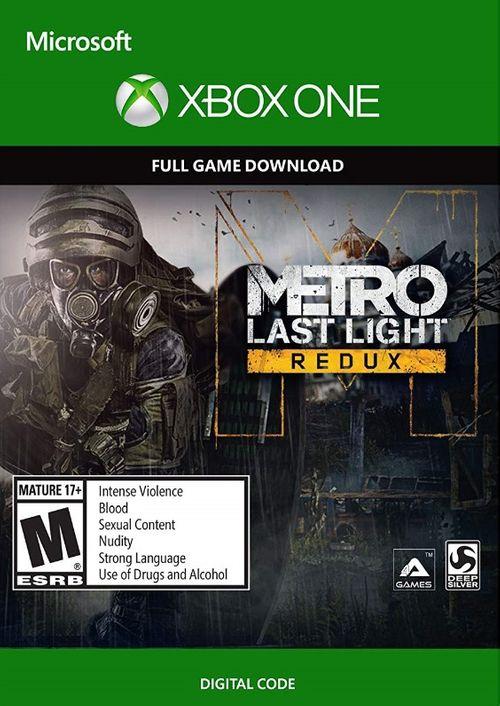 Metro: Last Light Redux &  Metro 2033: Redux (Xbox One Digital Code) für je 2,29€ (CDkeys)