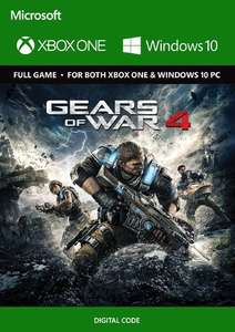 Gears of War 4 (Xbox One/PC Play Anywhere) für 1,89€ (CDkeys)