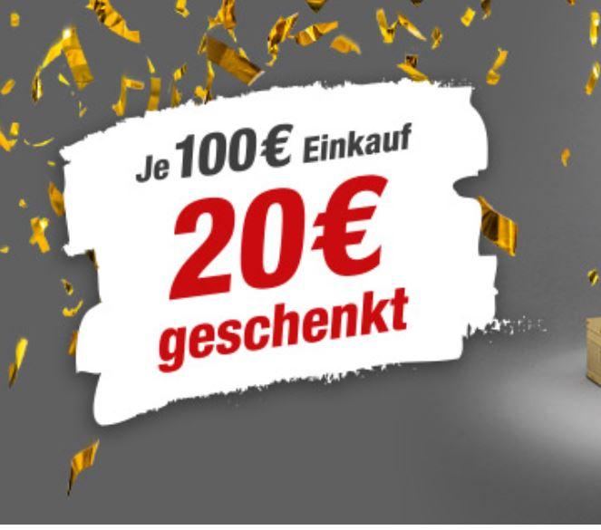 toom Gutschein-Tag 09.08.2019 - je 100€ Einkauf 20€ Gutschein geschenkt