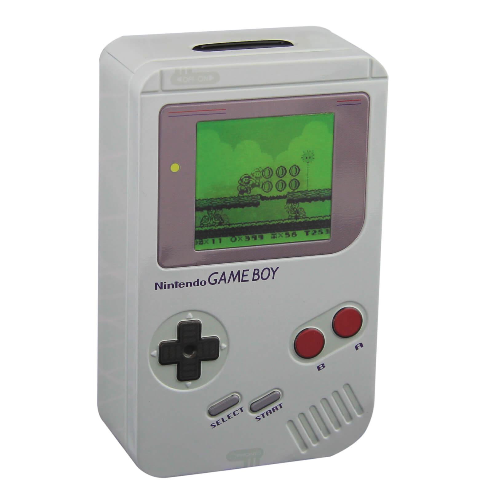 20% Rabatt auf Gaming Merchandise: z.B. Nintendo Game Boy Spardose für 9,48€ statt 13,90€