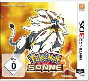 Pokémon: Sonne (3DS) für 19,99€ (Amazon Prime & Conrad)