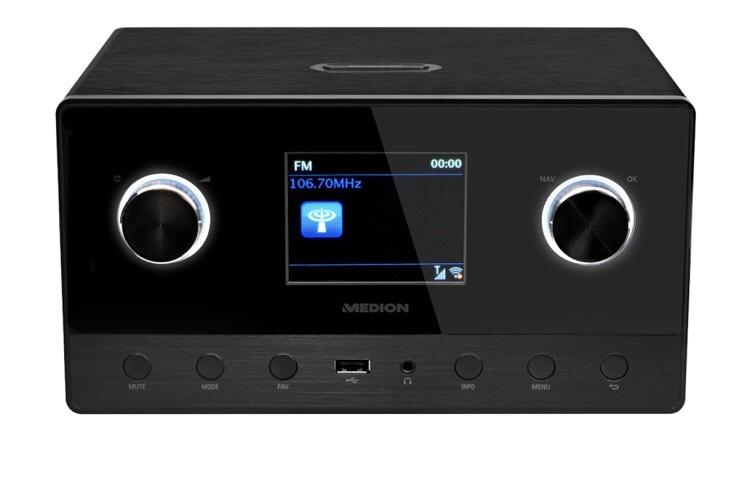 MEDION P85111 Wlan,DAB+,Internet-Radio,Multiroom-Funktion