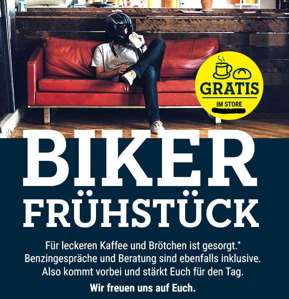 03.08. Biker-Frühstück bei Polo Motorrad: Neu-Ulm, Hallstadt, Schweinfurt, Reutlingen, Ingolstadt, Michelfeld