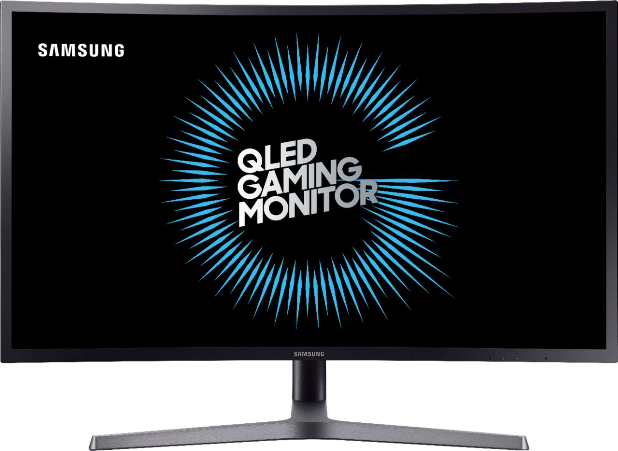 "Samsung C27HG70 Curved Gaming-Monitor 27"" WQHD, VA, FreeSync 2, HDR600, 350cd/m², 125% sRGB, Quantom-Dot, 1ms, Pivot, USB-Hub"