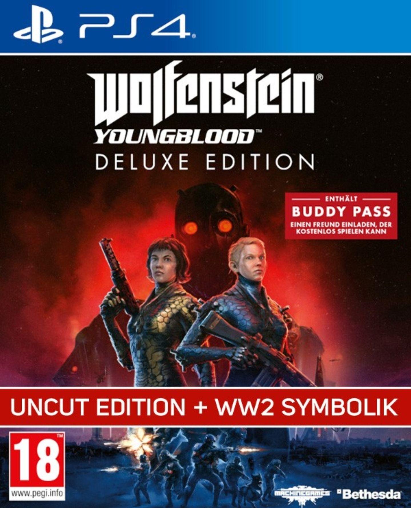 Gamelimit.de : Wolfenstein Youngblood (PS4) unzensiert für 32,90 inkl.Versand (Neukunden)