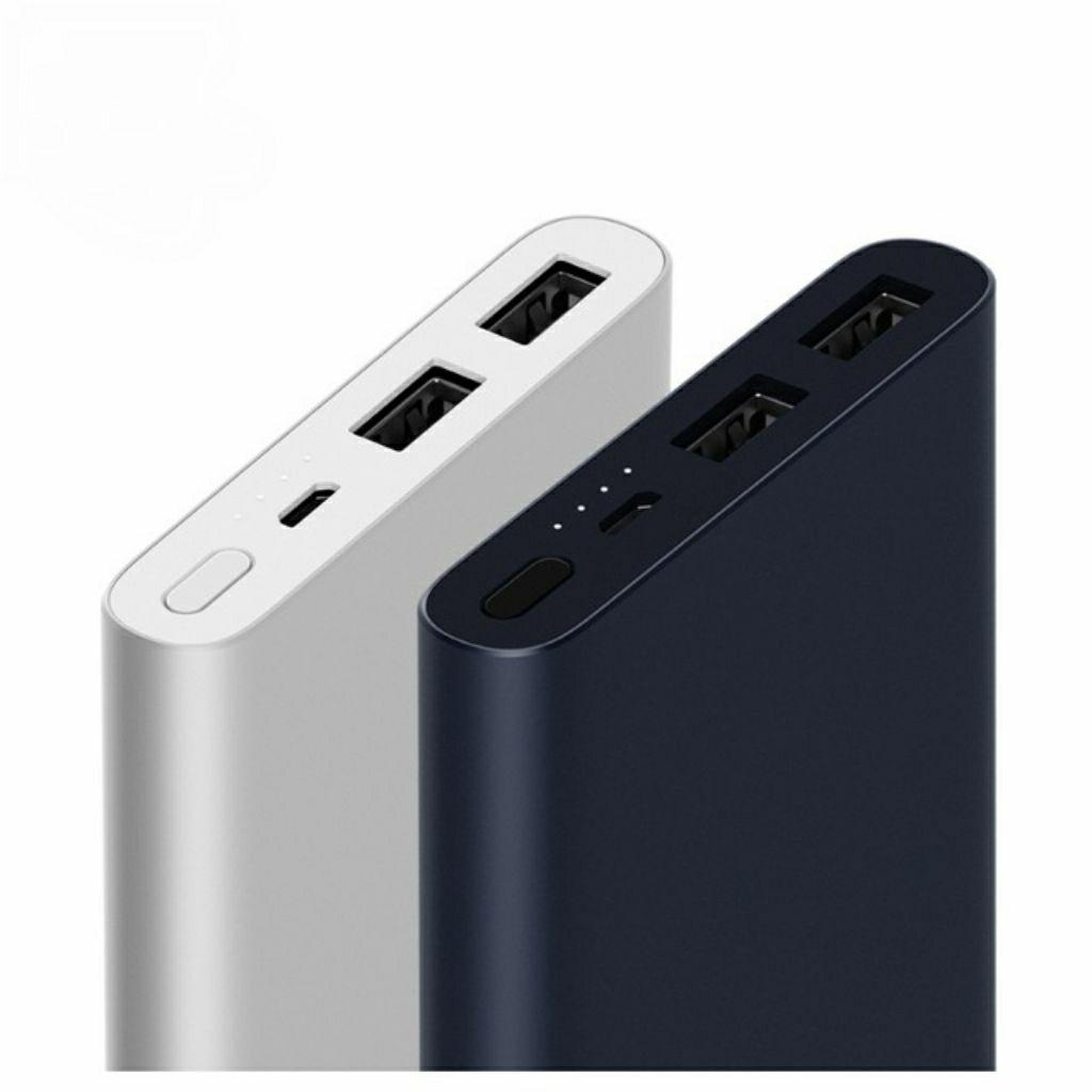 Xiaomi Powerbank 2: 10000mAh - Dual USB Output - Quick Charge 2 - Metallgehäuse