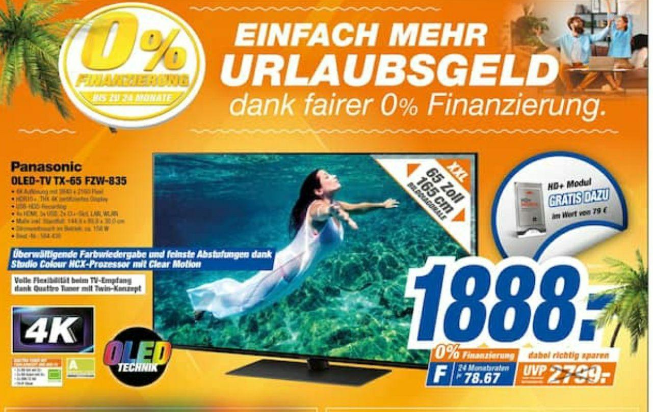 [Tevi Lokal Nürnberg und Umland] Panasonic 65FZW835 4K OLED TV