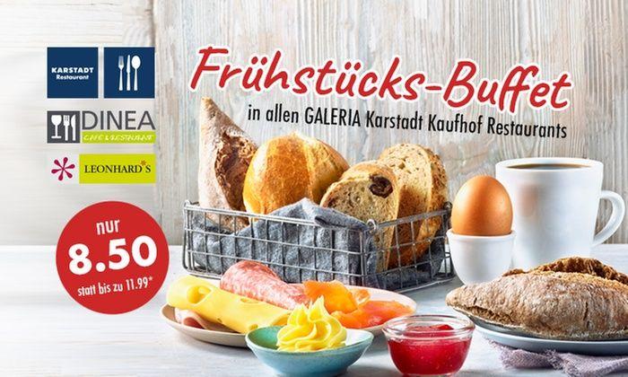 Groupon - Frühstück für 8,50€ in Restaurants von Galeria Karstadt Kaufhof