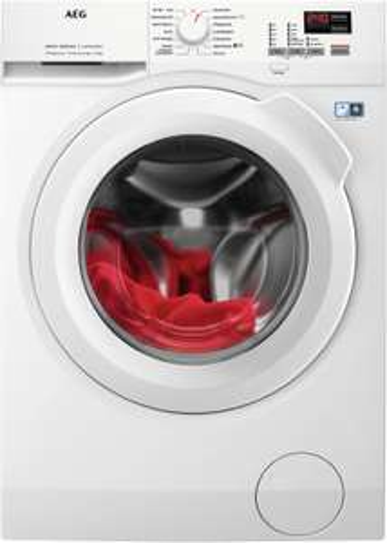 """Waschen-Wochen"": z.B. Frontlader AEG L6FBA674 (A+++ -20%, 7kg, 1600 U/min, 12 Programme, Mengenautomatik, Nachlegefunktion, AquaStop)"