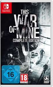This War of Mine: Complete Edition (Switch) für 15,99€ oder für 12,91€ Südafrika (eShop)