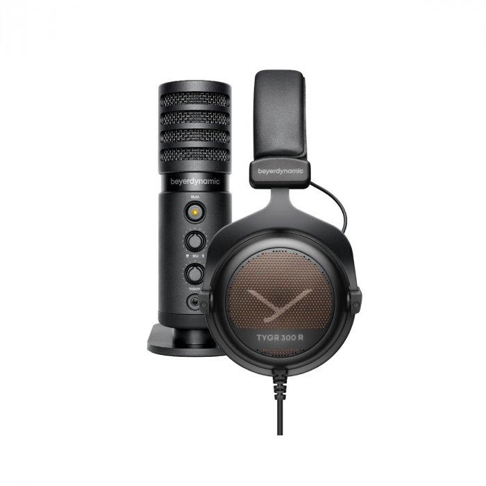 Beyerdynamic TEAM TYGR mit TYGR 300 R Kopfhörer und FOX USB-Mikrofon