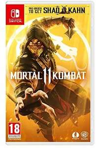 Mortal Kombat 11 (Switch) für 32,53€ (Amazon UK)