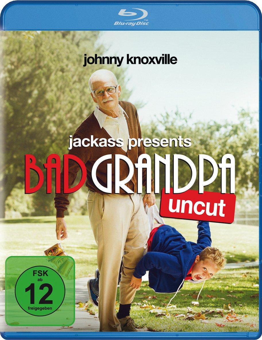 Jackass: Bad Grandpa & Der Diktator (Blu-ray) für je 4,99€ (Müller)