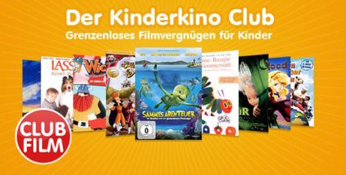 Kinderkino.de 1 Tag Club Mitgliedschaft Testen